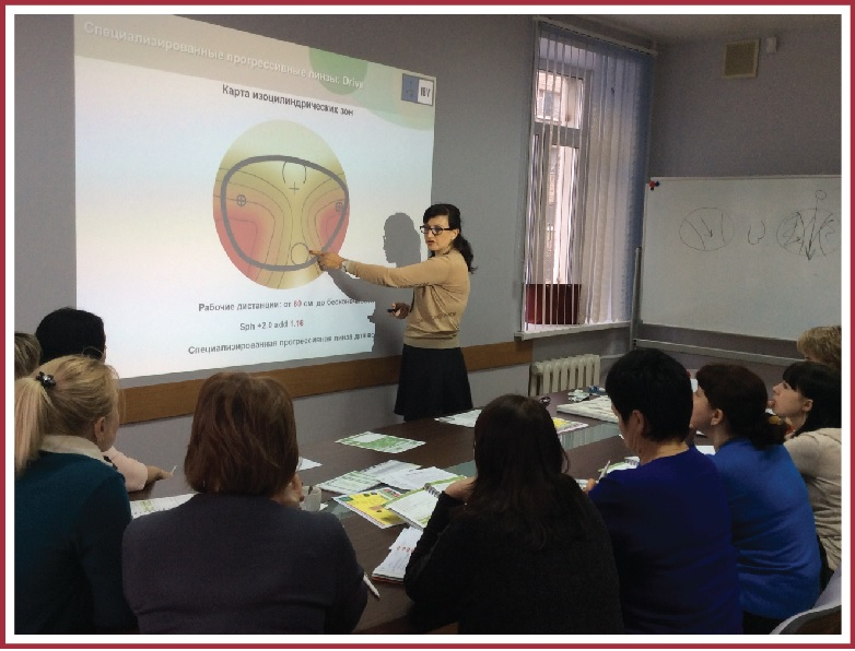 Modern possibilities of diagnostics and correction of refractive disorders (Chelyabinsk, Yekaterinburg)