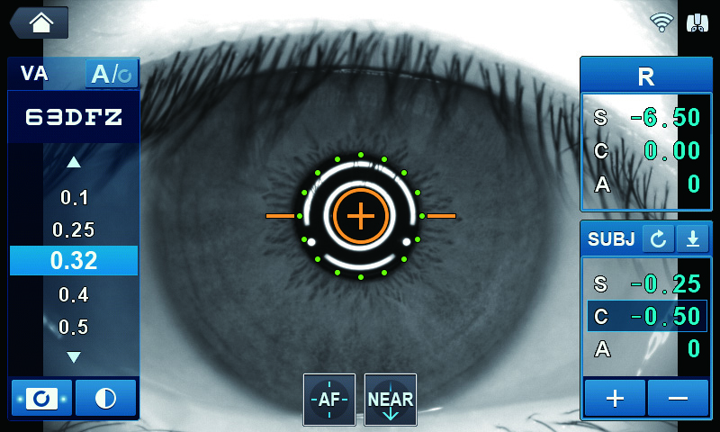 VA-тест Huvitz HRK-9000A