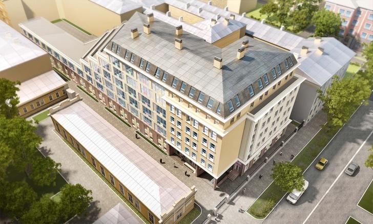 Новый корпус Мариинской больницы