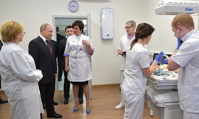 Путин в Коломне