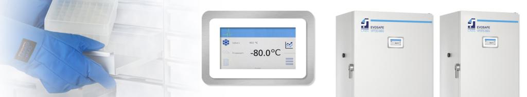 Применение морозильника EvoSafe Snijders Labs (Нидерланды)