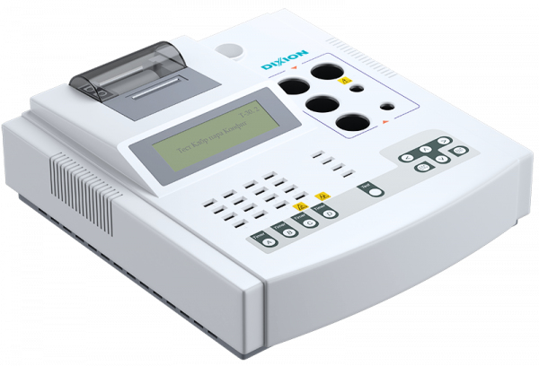 Полуавтоматический коагулометр с принтером Реалайт 1204 DIXION купить в Москве, цена на Реалайт 1204   Stormoff